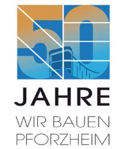 stadtbau-pforzheim-jubilums-logo