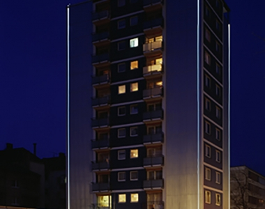 Calwer Straße 2 (Balkonsanierung + Fassadenanstrich)