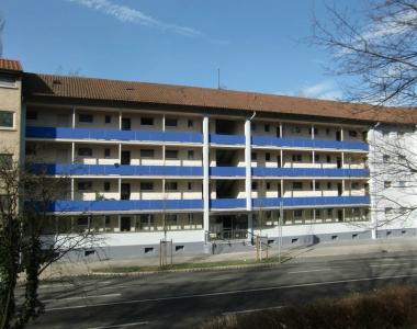 Calwer Straße 46 (Balkonsanierung + Fassadenanstrich)